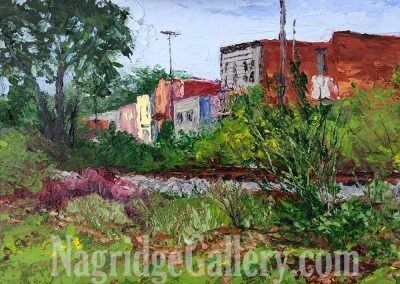Behind Downtown Milford