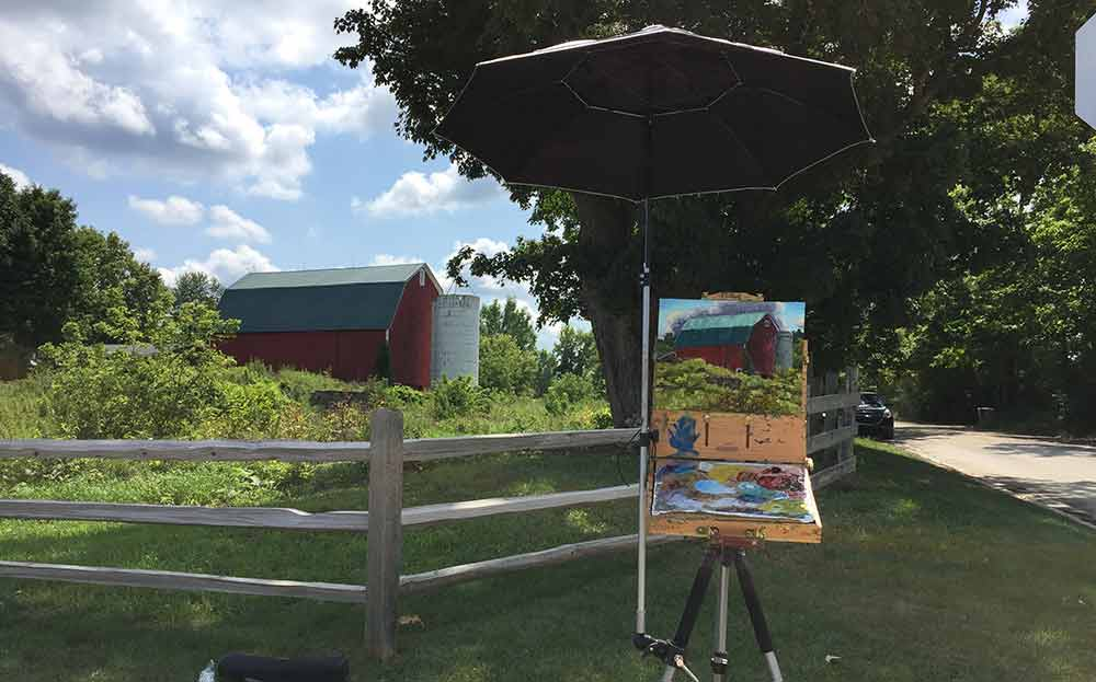 2017 Paint Dexter Plein Air Festival – Day 2
