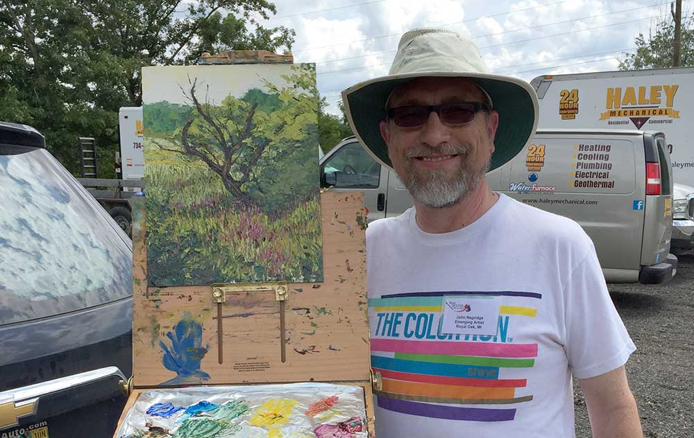 2017 Paint Dexter Plein Air Festival – Day 1
